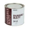 Краска для металла с молотковым эффектом Biodur 3 в 1, 2.1 л черная 105