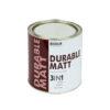 Краска для металла с молотковым эффектом Biodur 3 в 1, 0.7 л серебристо-серая 106