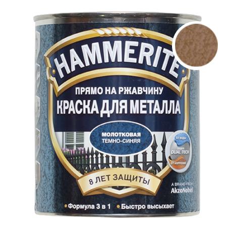 Hammerite молотковая медная, 0.75 л