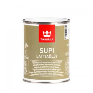 Tikkurila Supi Lattiaolju (Тиккурила Супи Масло для пола) База ЕC, 0.9 л