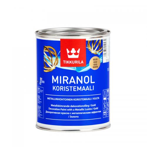 Tikkurila Miranol (Тиккурила Миранол) Золото, 0.1 л
