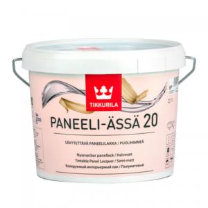 Tikkurila Paneeli Assa 20 (Тиккурила Панели Ясся 20) Полуматовый, 0.9 л