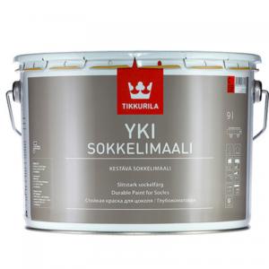 Tikkurila Yki Sokkelimaali (Тиккурила Юки) База С, 2.7 л