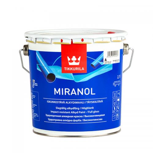 Tikkurila Miranol (Тиккурила Миранол) База А, 2.7 л