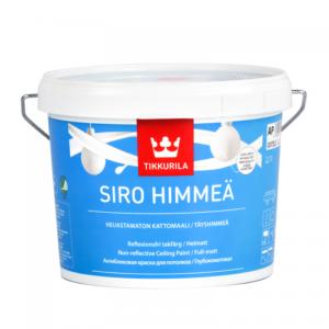 Tikkurila Siro Himmea (Тиккурила Сиро Мат) База АР, 0.9 л