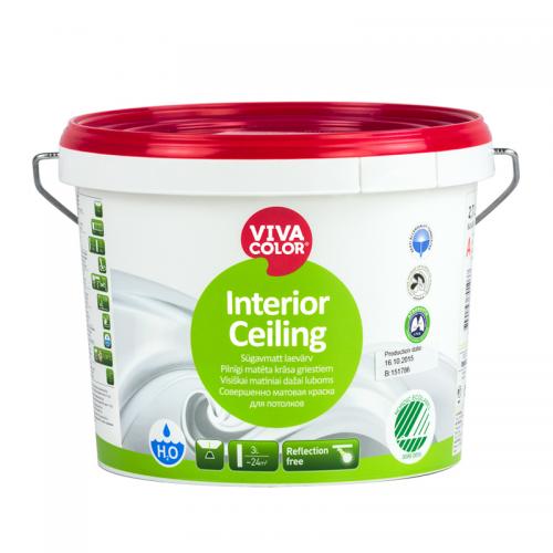 Vivacolor Interior Ceiling белая, 0.9 л