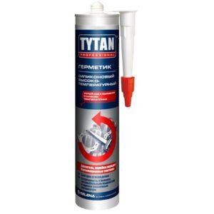 Герметик Высокотемпературный Tytan, красный, 280 мл