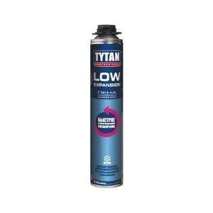 Профессиональная зимняя монтажная пена Tytan Professional Low Expansion, 750 мл