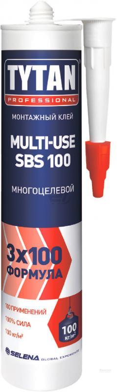 Многоцелевой монтажный клей Tytan Multi-Use SBS 100, 310 мл
