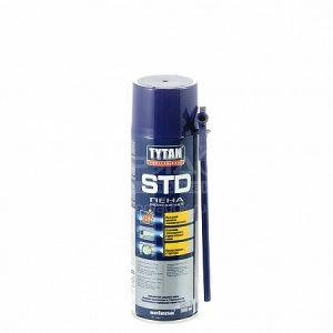 Ручная летняя монтажная пена Tytan STD, 500 мл