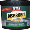 Мастика для легкой гидроизоляции битумно-каучуковая  Tytan  Disprobit , 10 кг