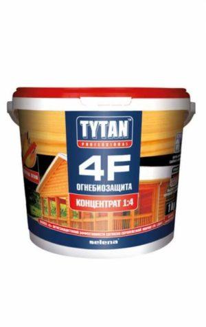 Деревозащитный состав «Огнебиозащита» Tytan 4F 1:4 , 5 кг