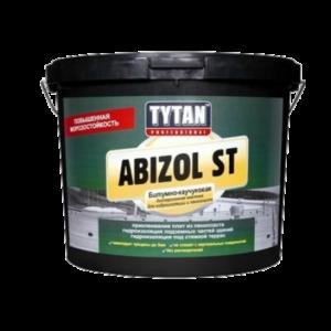 Tytan  Abizol ST Битумная мастика для неровных поверхностей, 9 кг