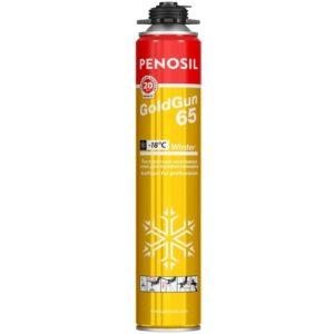 PENOSIL Полиуретановая монтажная пена Gold Gun 65 900gr Winter / Зимняя
