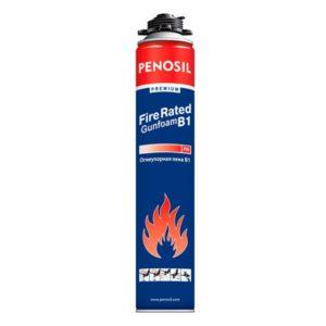 Огнеупорная монтажная пена Penosil Premium FireRated Gunfoam B1 750 мл