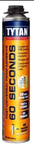 TYTAN Пена-клей 60 Second STD (монтаж.) , 750 МЛ