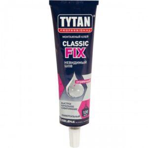 Клей каучуковый Tytan Classic Fix прозрачный, 100 мл