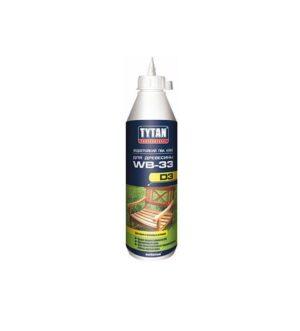TYTAN PROFESSIONAL WB-33 Водостойкий ПВА клей D3 для древесины 200мл.