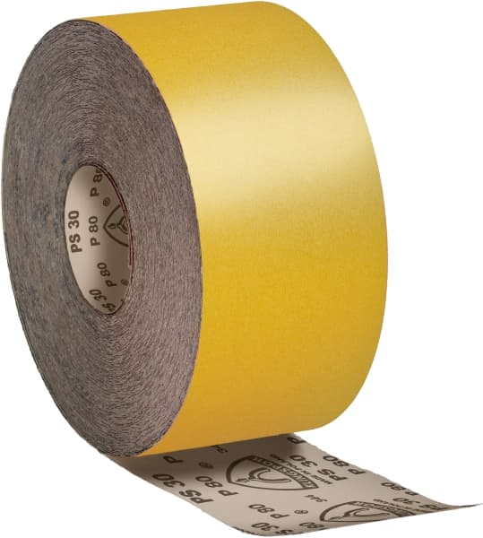 Шлифовальная бумага Klingspor PS 30 D, рулон, P180 115х50000мм