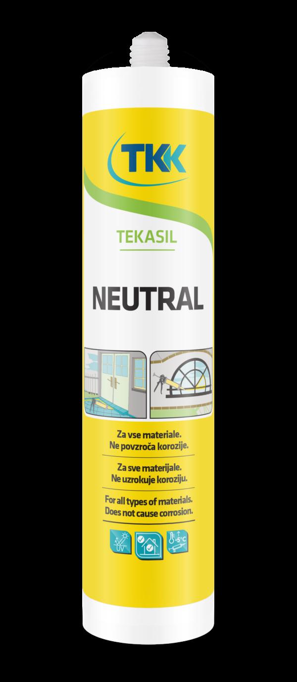 Силикон нейтральный TEKASIL NEUTRAL  (прозрачный) 280 ml