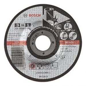 Отрезной круг Bosch 3-В-1 115х2.5х22.23 мм, 2608602388