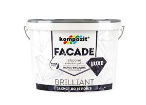 Kompozit Краска фасадная силиконовая FACADE LUXE, 1.4 кг