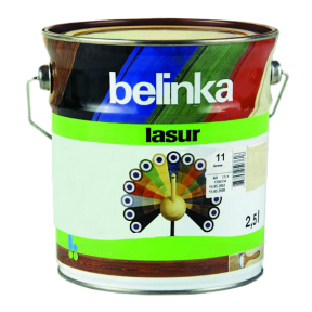 Belinka Lasur № 11 белая, 5 л