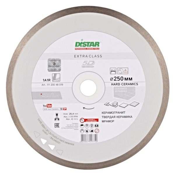 Круг алмазный отрезной Distar 1A1R 250×1,6x10x25,4 Hard ceramics