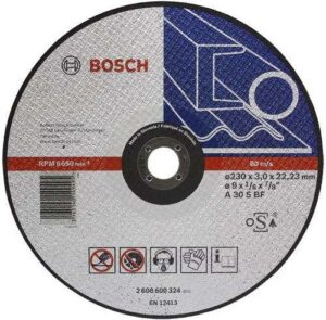 Отрезной круг Bosch металл 125х1.6 мм, 2608600219