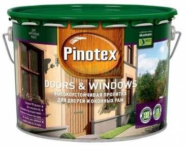 PINOTEX DOORS & WINDOWS ТИК, 10 л