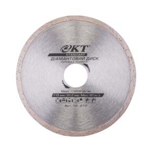 Алмазный диск КТ Standart 115 22,2, Плитка
