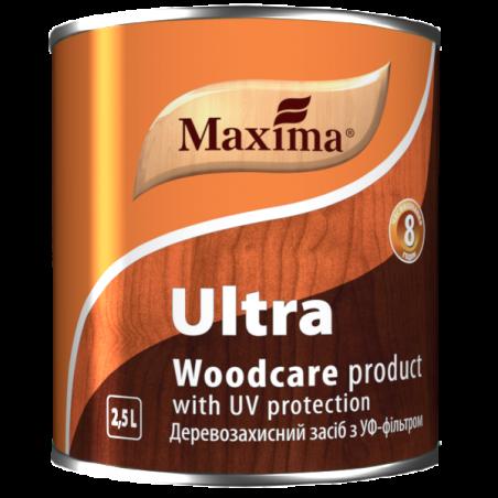 Деревозащитное алкидное средство Maxima красное дерево, 2.5 л