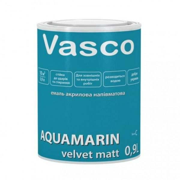 VASCO AQUAMARIN Глянцевая белая, 0.9 л