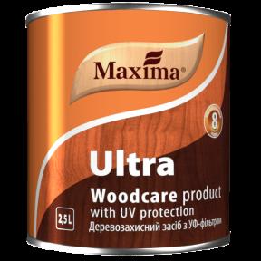 Деревозащитное алкидное средство Maxima красное дерево, 10 л