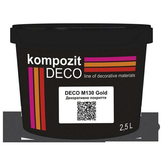 Kompozit Декоративное покрытие DECO M130 GOLD, 2.5 л