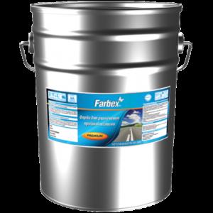 Краска для дорожной разметки Farbex, красная, 30 кг