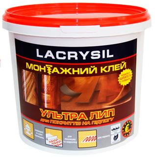 Клей строительный для напольных покрытий Ультра Лип LACRYSIL, 6 кг