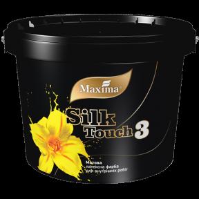 Интерьерная латексная краска Silk Touch 3 Maxima матовая , 5 л