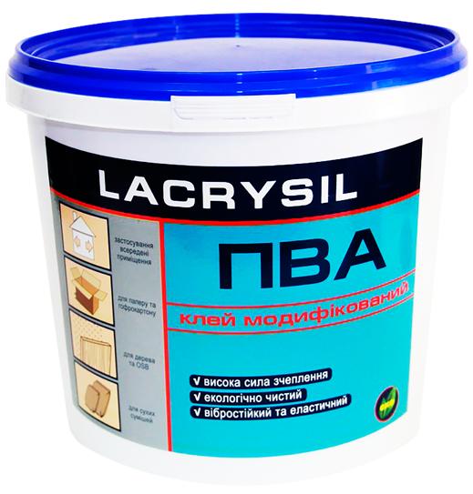 Клей ПВА модифицированный, LACRYSIL,  0.9 кг