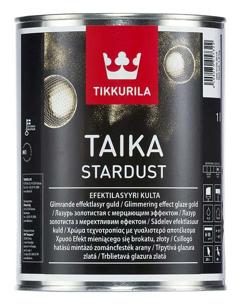 Tikkurila Taika Stardust (Тиккурила Тайка Стардаст)  Золотистый, 1 л