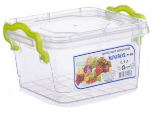 AL-PLASTIK MiniLux Пищевой контейнер с ручками 0.4 л