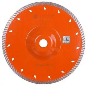 Алмазный диск по граниту Turbo 230×2,3x9x22,23/F Laser CTH 230×22,23/F GM