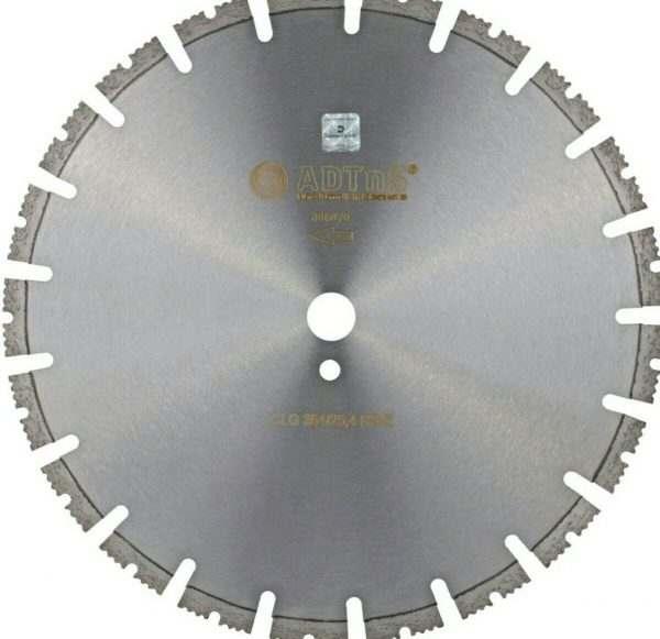 Круг алмазный отрезной по бетону ADTnS 1A1RSS/C1-W 354×3,2/2,2×25,4-11,5-21 CLG 354/25,4 RS-Z