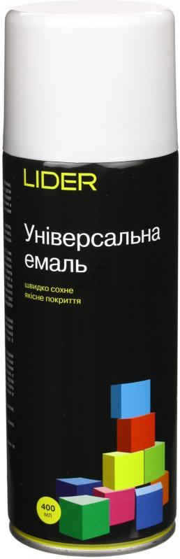 Универсальная эмаль Lider 400 мл, светло-серая №7035