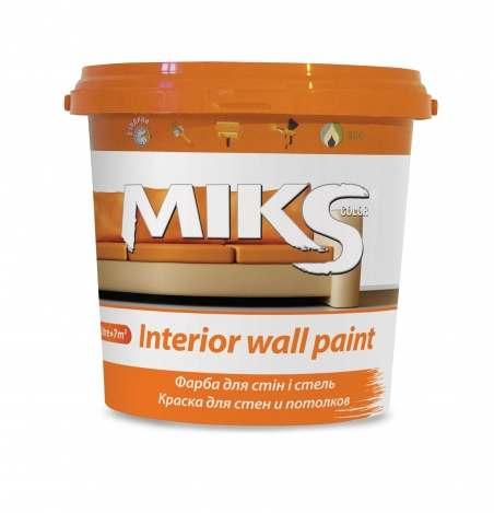 Краска для стен и потолков МИКС, 1.4 кг