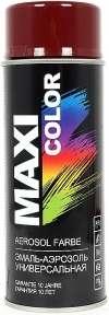 Универсальная аэрозольная эмаль Maxi Color 400 мл, Бордовая RAL 3005