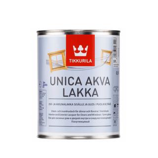 Tikkurila Unica Akva Lakka (Тиккурила Уника Аква Лакка) EP, 0.9 л