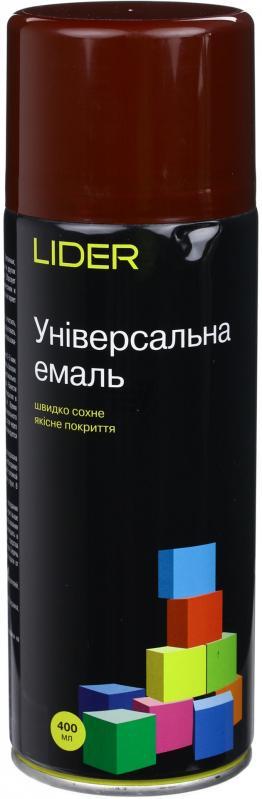 Универсальная эмаль Lider 400 мл, темная вишня №3005