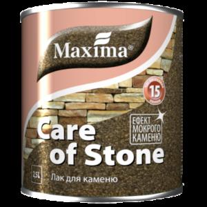 Акриловый лак для камня Maxima глянцевый, 2.5 л
