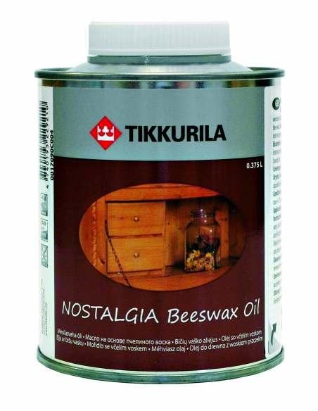 Tikkurila Nostalgia (Тиккурила Ностальгия) Масло на основе пчелиного воска, 0.375 л